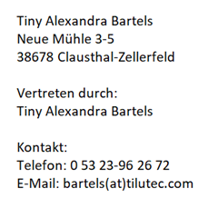 Impressum Lilatex